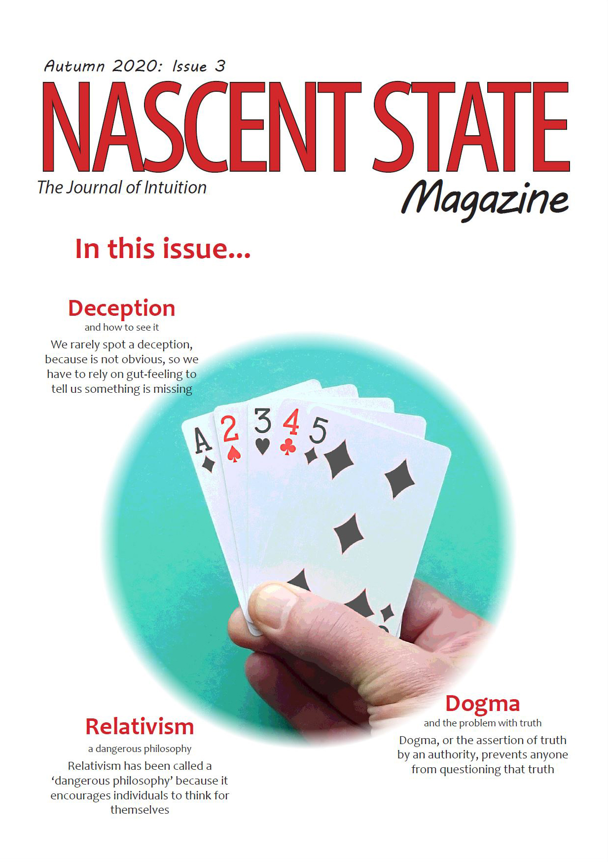 Nascent State Magazine Autumn 2020